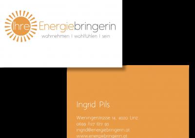 Visitenkarte Ingrid Pils