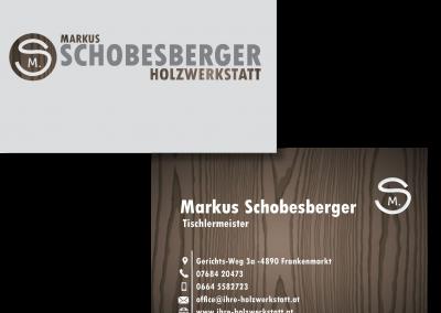 Visitenkarte Markus Schobesberger