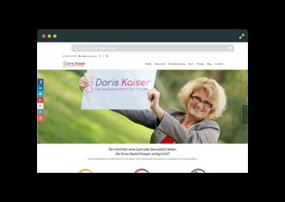 Webseite Doris Kaiser