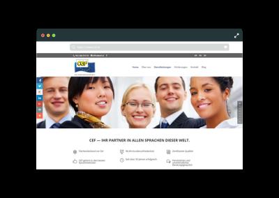 Webseite CEF