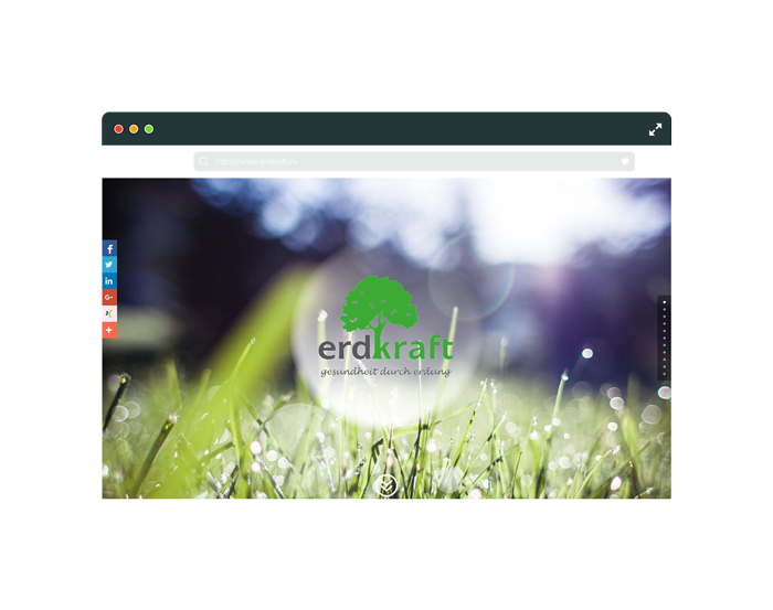 Flat-Browser-Erdkraft