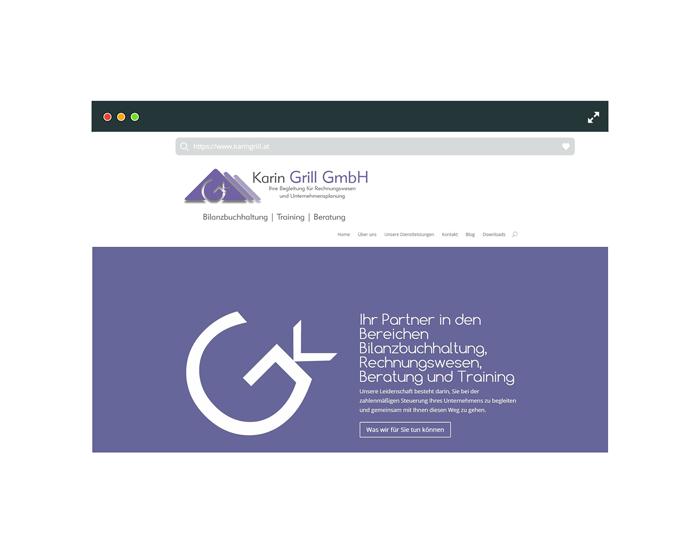 Webseite Karin Grill