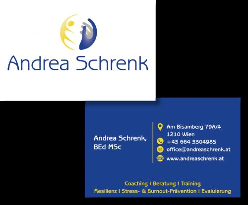 Visitenkarte Andrea Schrenk