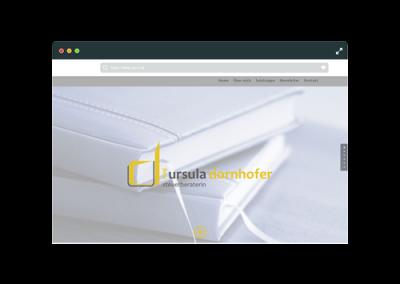Webseite Ursula Dornhofer